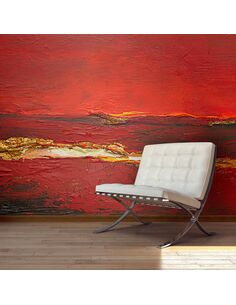 Papier peint GOLD WAVE - par Artgeist