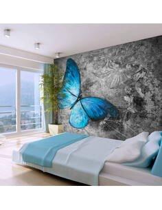 Papier peint BLUE BUTTERFLY - par Artgeist