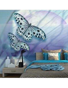 Papier peint PLANET OF BUTTERFLIES - par Artgeist