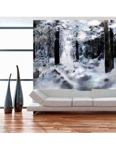 Papier peint WINTER FOREST - par Artgeist