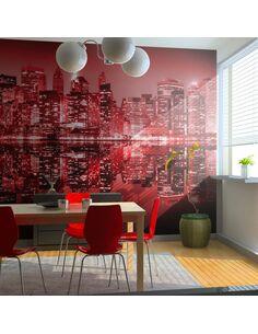 Papier peint RED-HOT NYC - par Artgeist