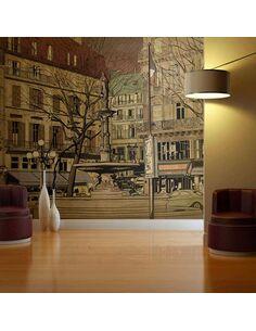 Papier peint PARISIAN FOUNTAIN - par Artgeist