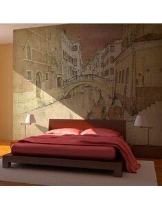 Papier peint GONDOLAS IN VENICE - par Artgeist