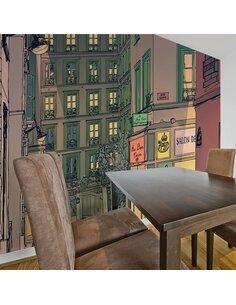 Papier peint BREAKFAST IN PARIS - par Artgeist
