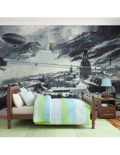 Papier peint WINTER IN RUSSIA - par Artgeist