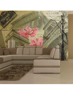Papier peint BONJOUR PARIS! - par Artgeist