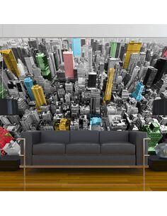 Papier peint NEW YORK KALÉIDOSCOPE - par Artgeist