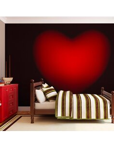 Papier peint SHAPE OF MY HEART - par Artgeist