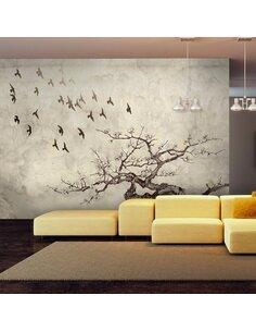 Papier peint FLOCK OF BIRDS - par Artgeist