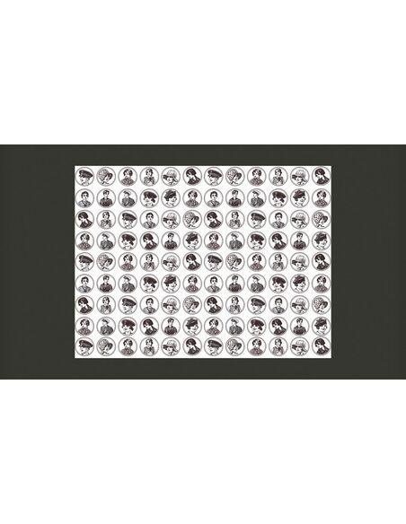 papier peint ann es folles 20 et 30 de artgeist dimensions stock exp d 48h. Black Bedroom Furniture Sets. Home Design Ideas