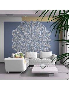 Papier peint ORNEMENT BLANC - par Artgeist