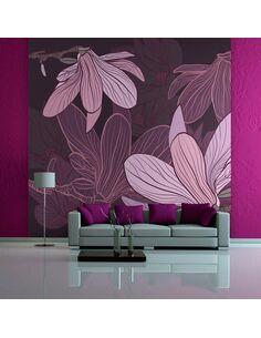 Papier peint DREAMY FLOWERS - par Artgeist