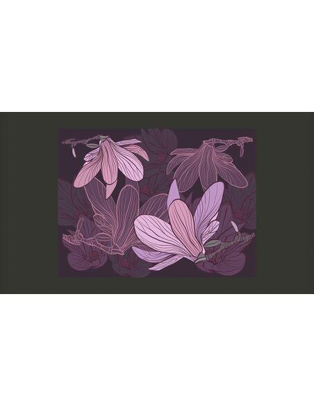 Papier peint DREAMY FLOWERS - Motifs floraux par Artgeist