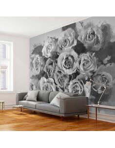 Papier peint A DOZEN ROSES - par Artgeist