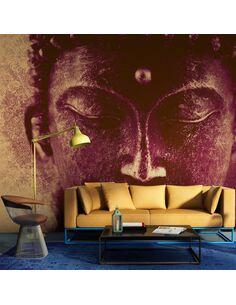 Papier peint BUDDHA EN MÉDITATION - par Artgeist