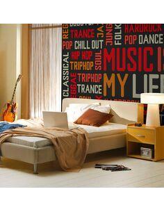 Papier peint MUSIC IS MY LIFE - par Artgeist