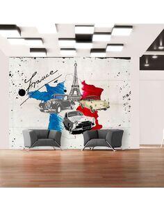 Papier peint ADMIRER OF CARS FRANCE - par Artgeist