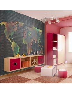 Papier peint CARTE POUR ENFANTS - par Artgeist