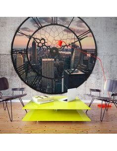 Papier peint NYC TIME ZONE - par Artgeist