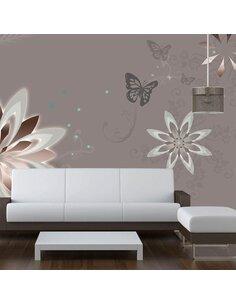 Papier peint NATURE'S CONSTANCY - Motifs floraux par Artgeist
