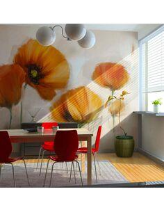 Papier peint POPPIES VINTAGE - par Artgeist