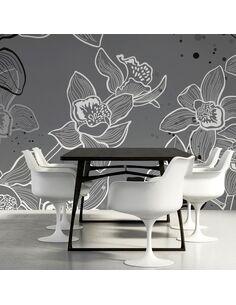 Papier peint WINTER FLORA - par Artgeist