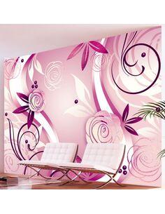 Papier peint FANTAISIE ET ROSES - par Artgeist