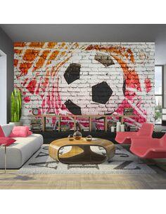 Papier Peint Street Football  Sport Artgeist