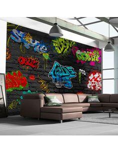 Papier peint GRAFFITI WALL - par Artgeist