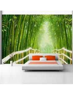 Papier peint MAGICAL WORLD OF GREEN - par Artgeist