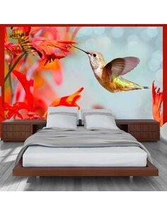 Papier peint HUMMINGBIRD FLIGHT - par Artgeist
