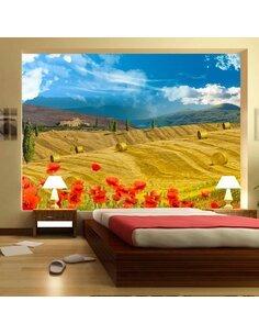 Papier peint AUTUMN LANDSCAPE - par Artgeist