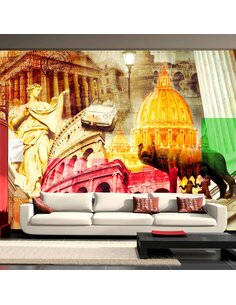 Papier peint ROME COLLAGE - par Artgeist