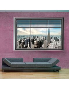 Papier peint NEW YORK WINDOW II - par Artgeist