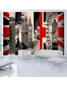 Papier peint SYMBOLS OF LONDON - par Artgeist
