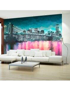 Papier Peint Painted New York  New York Artgeist