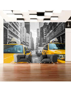 Papier peint NEW YORK TAXI - par Artgeist
