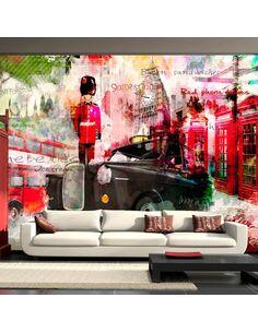 Papier peint STREETS OF LONDON - par Artgeist