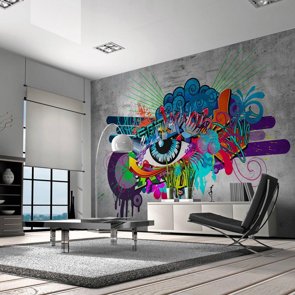 Papier peint GRAFFITI EYE à 99,90 € chez ReCollection