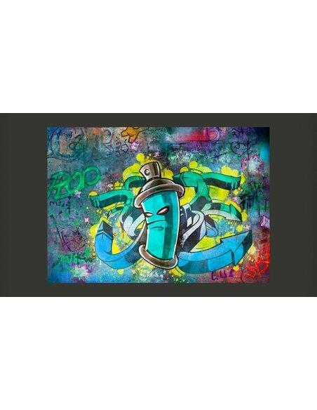 papier peint graffiti maker 99 90 chez recollection. Black Bedroom Furniture Sets. Home Design Ideas
