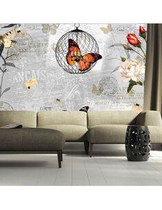 Papier peint BUTTERFLIES SONG - par Artgeist