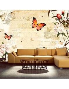 Papier peint MELODIES OF BUTTERFLIES - par Artgeist