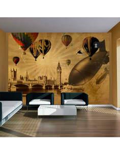 Papier peint BALLOON COMPETITIONS - par Artgeist