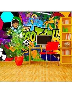 Papier peint FOOTBALL CUP - par Artgeist