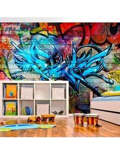 Papier peint ART CRIME - par Artgeist