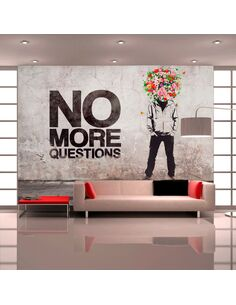 Papier peint NO MORE QUESTIONS - par Artgeist