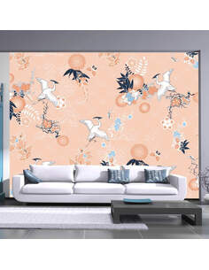 Papier peint DANCE OF HERONS - par Artgeist