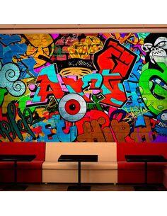 Papier peint GRAFFITI ART - par Artgeist
