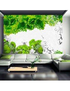 Papier peint COLORS OF SPRING: GREEN - par Artgeist