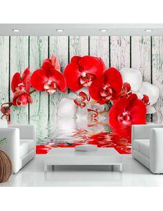 Papier peint RUBY ORCHID - par Artgeist